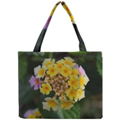 Colorful Flowers Tiny Tote Bags