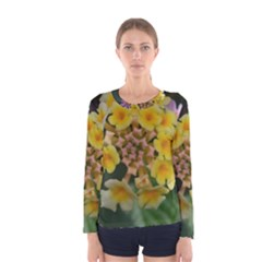 Colorful Flowers Women s Long Sleeve T-shirts