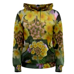 Colorful Flowers Women s Pullover Hoodies