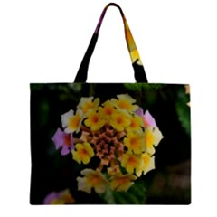 Colorful Flowers Zipper Tiny Tote Bags
