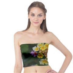 Colorful Flowers Women s Tube Tops