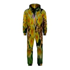 Colorful Flowers Hooded Jumpsuit (Kids)