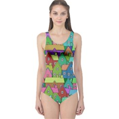 House 001 Women s One Piece Swimsuits