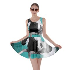 Beautiful Horse With Water Splash  Skater Dresses