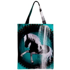 Beautiful Horse With Water Splash  Classic Tote Bags
