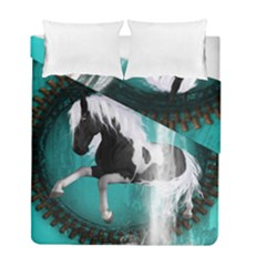 Beautiful Horse With Water Splash  Duvet Cover (twin Size)