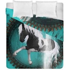 Beautiful Horse With Water Splash  Duvet Cover (double Size)