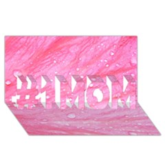 Pink #1 MOM 3D Greeting Cards (8x4)