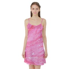 Pink Satin Night Slip