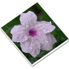 Pink Purple Flowers Small Memo Pads