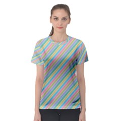Stripes 2015 0401 Women s Sport Mesh Tees