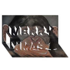 Menschen   Interesting Species! Merry Xmas 3d Greeting Card (8x4)
