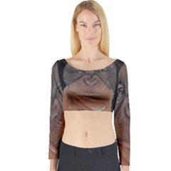 Menschen - Interesting Species! Long Sleeve Crop Top