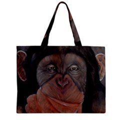 Menschen - Interesting Species! Zipper Tiny Tote Bags