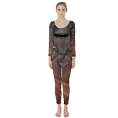 Menschen - Interesting Species! Long Sleeve Catsuit