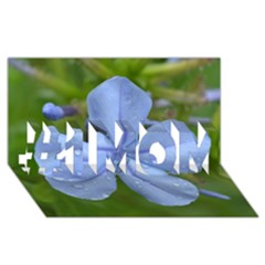 Blue Water Droplets #1 MOM 3D Greeting Cards (8x4)