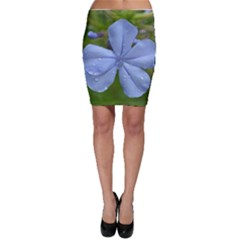 Blue Water Droplets Bodycon Skirts