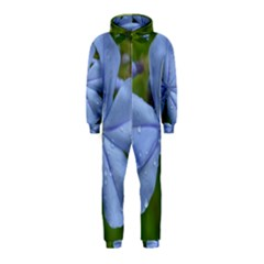 Blue Water Droplets Hooded Jumpsuit (Kids)