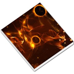 Fire And Flames In The Universe Small Memo Pads