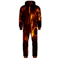 Fire And Flames In The Universe Hooded Jumpsuit (Men)