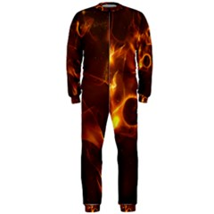 Fire And Flames In The Universe OnePiece Jumpsuit (Men)