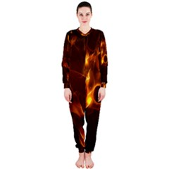 Fire And Flames In The Universe OnePiece Jumpsuit (Ladies)