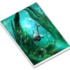 Wonderful Dolphin Large Memo Pads