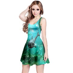 Wonderful Dolphin Reversible Sleeveless Dresses