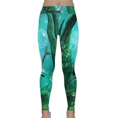 Wonderful Dolphin Yoga Leggings