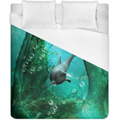 Wonderful Dolphin Duvet Cover Single Side (double Size)