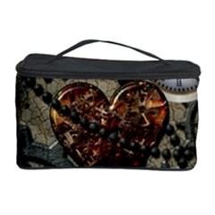 Steampunk With Heart Cosmetic Storage Cases