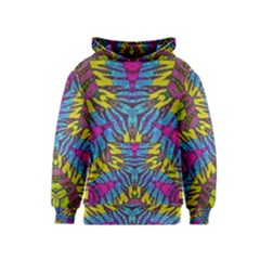 Crazy Beautiful Abstract Animal print  Kid s Pullover Hoodies