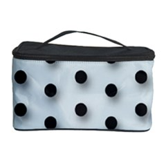 Black And White Polka Dot  Cosmetic Storage Cases