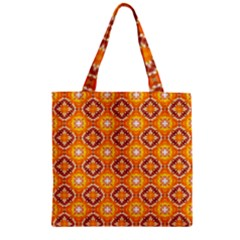 Cute Pattern Gifts Zipper Grocery Tote Bags