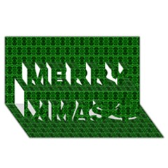 Cute Pattern Gifts Merry Xmas 3D Greeting Card (8x4)