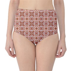 Cute Pattern Gifts High Waist Bikini Bottoms