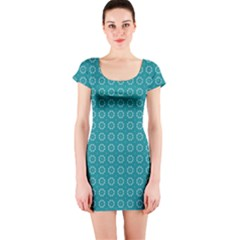 Cute Pattern Gifts Short Sleeve Bodycon Dresses