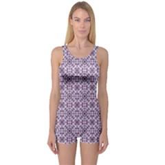 Cute Pattern Gifts Women s Boyleg One Piece Swimsuits