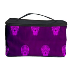 Skull Pattern Purple Cosmetic Storage Cases