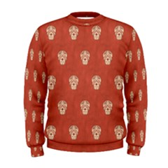 Skull Pattern Terra Men s Sweatshirts