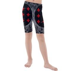 Occult theme #2 Kid s swimwear