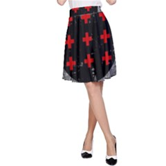 Occult theme #2 A-Line Skirts