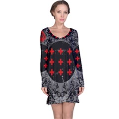 Occult theme #2 Long Sleeve Nightdresses