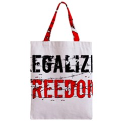 Legalize Freedom Classic Tote Bags