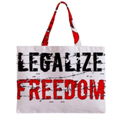 Legalize Freedom Zipper Tiny Tote Bags