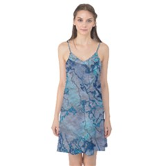 Marbled Lava Blue Camis Nightgown