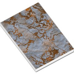 Marbled Lava Orange Large Memo Pads