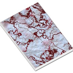 Marbled Lava Red Large Memo Pads