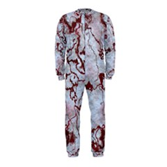 Marbled Lava Red Onepiece Jumpsuit (kids)