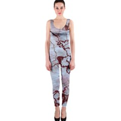 Marbled Lava Red OnePiece Catsuits
